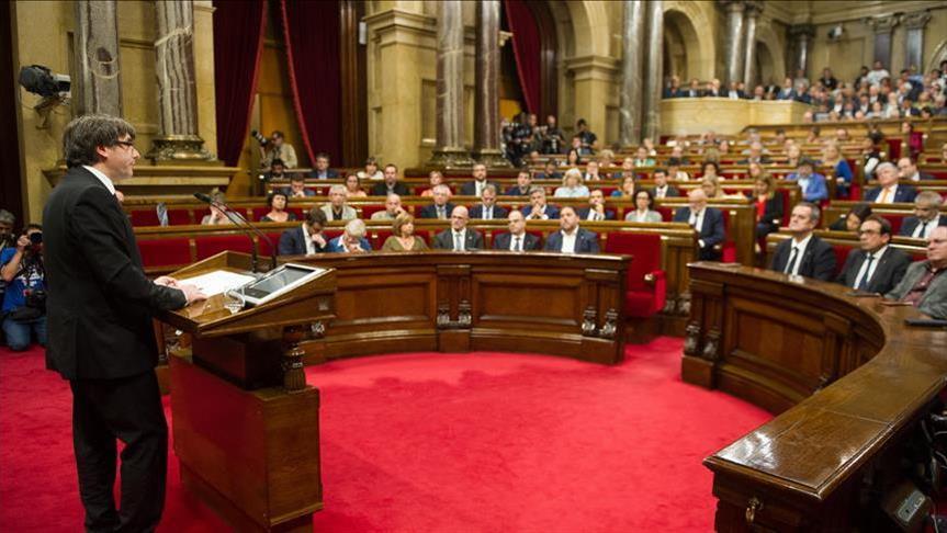 Puđemont u Parlamentu Katalonije